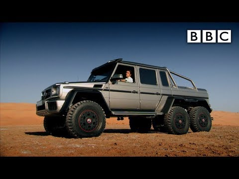 Richard Hammond tests a 6x6 SUV in Abu Dhabi - Top Gear: Series 21 Epi