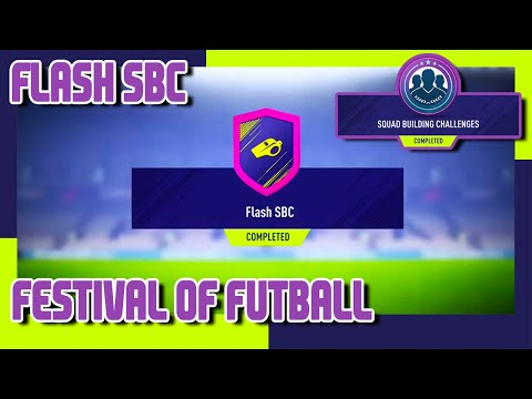 FIFA 18 - FoF - Flash SBC & Pack Opening