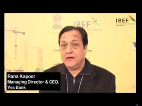 Rana Kapoor, Managing Director & CEO, Yes Bank