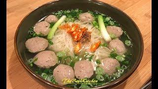 Cách làm thịt Bò Viên Dai Giòn tại nhà, công thức Tiếng Việt.