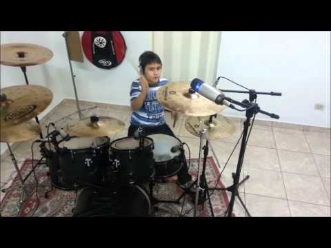 DETONAUTAS quando o sol se for DRUM COVER LEONARDO