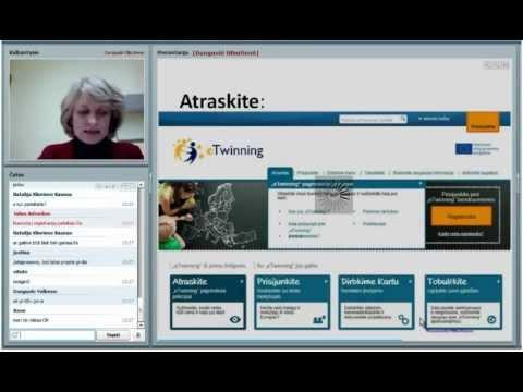 2012.10.25 Pažintis su eTwinning I dalis (Ištraukos)