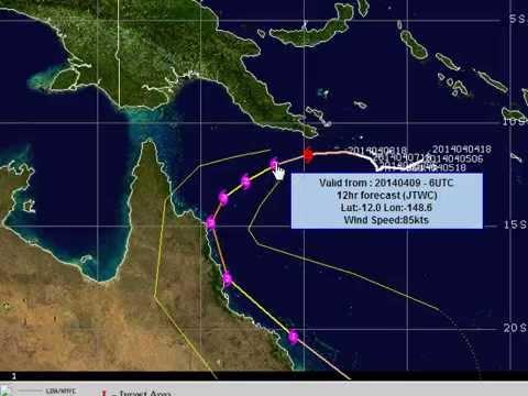Aussie Cyclone Update April 9 2014