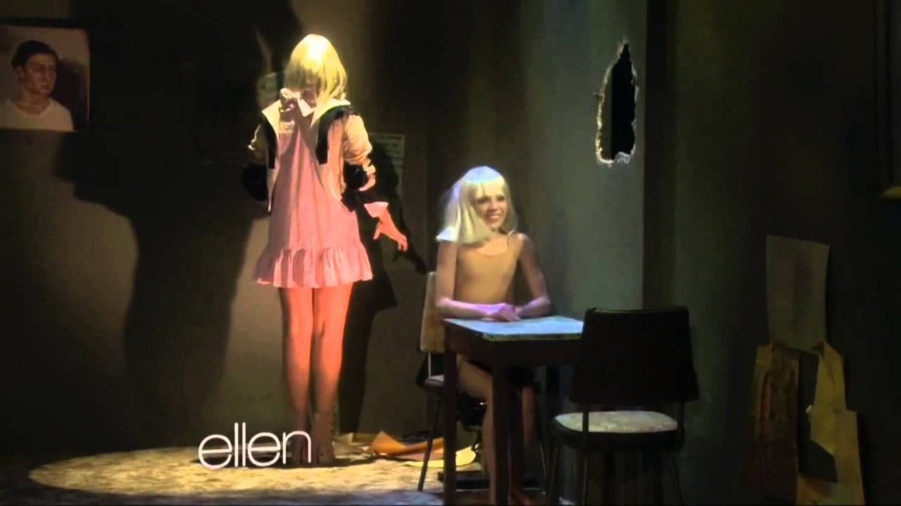 Maddie And Sia On Ellen Youtube