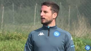 L'allenamento degli Azzurri in vista di Napoli - Granada