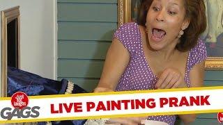 Skrytá kamera - Keď maľba ožije
