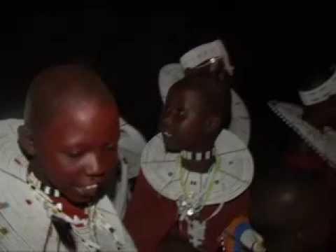 Африка. Фильм Стаса Намина. Ритуальный танец племени Масаи. 2006