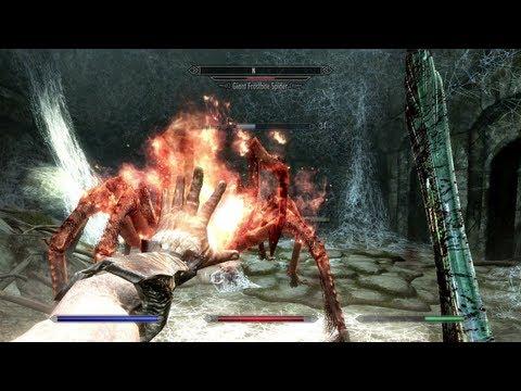 The Elder Scrolls V: Skyrim - Dungeon Gameplay (PC, PS3, Xbox 360)