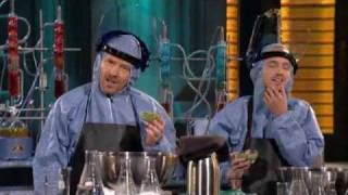 Bryan Cranston and Aaron Paul ''Cook'' on Lopez Tonight