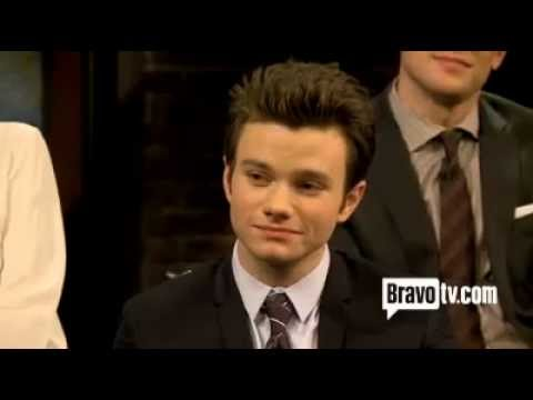 "Watch Chris Colfer Discuss His Character on ""Inside the Actors Studio"""