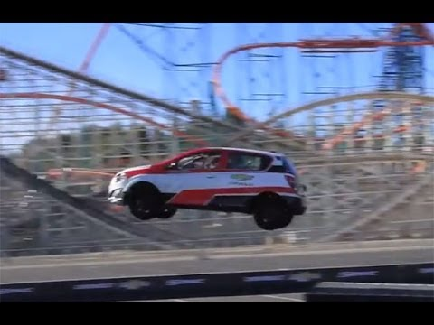 Guiness World Record Chevrolet Sonic Backwards Jump