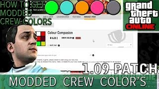 GTA 5 Online How To Get Modded Paint Colors! Modded