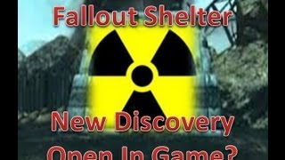 Fallout Shelter Easter Egg: New Discoveries, How To Open