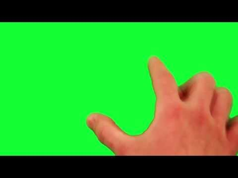 Green Screen Smartphone iPad Touch Screen HD - Royalty Free Footage