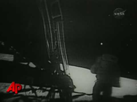 Raw Video: Restored Video of Apollo 11 Moonwalk