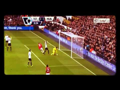 Tottenham vs Manchester United 2-2 All Goals & Highlights 1 12 2013 HD