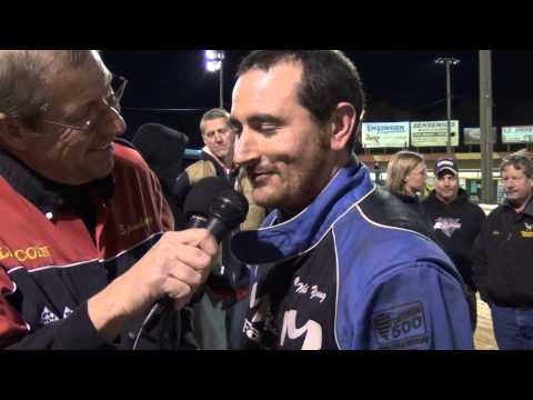 Lincoln Speedway 358 Sprint Car Victory Lane 10-20-13
