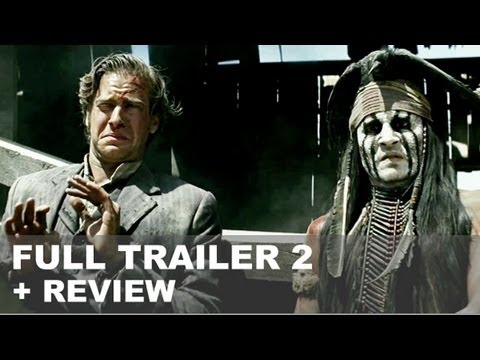 The Lone Ranger Official Trailer 2 + Trailer Review : HD PLUS
