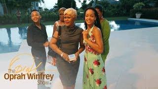 Rihanna Gives Her Mother the Surprise of a Lifetime | The Oprah Winfrey Show | Oprah Winfrey Network