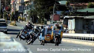 Philippines Motor Travel Luzon On Honda Motorbikes. Moto