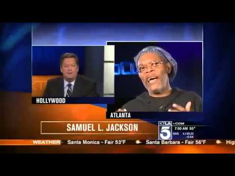 Funny : Reporter Mistakes Samuel L  Jackson for Laurence Fishburne