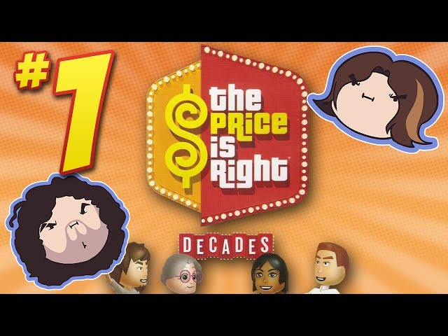 The Price is Right Decades: Showcase Showdown - PART 1 - Game Grumps VS