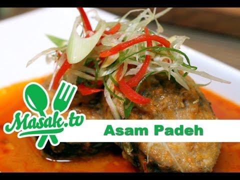 Asam Padeh Ikan Tongkol | Resep #095
