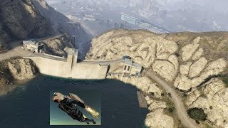 The Lighthouse & The Dam GTA 5 Jetpack / Chiliad Mystery