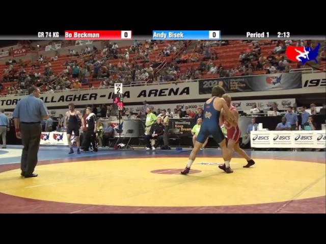 Bo Beckman vs. Andy Bisek