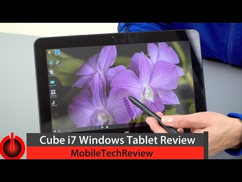 Cube i7 Review - Affordable Windows Tablet with Pen