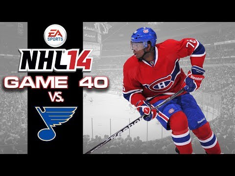Let's Play NHL 14 - Game 40 vs St Louis Blues