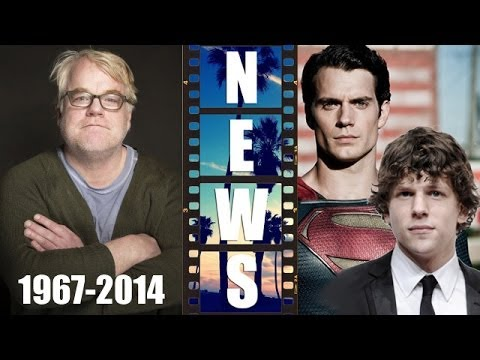 Philip Seymour Hoffman & Hollywood Drugs, Jesse Eisenberg is Lex Luthor 2016 - Beyond The Trailer