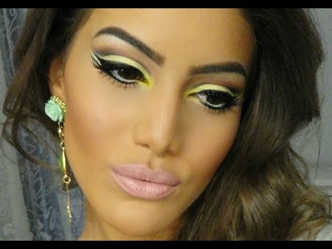 makeup tutorial teal amp turquoise intense smokey eye