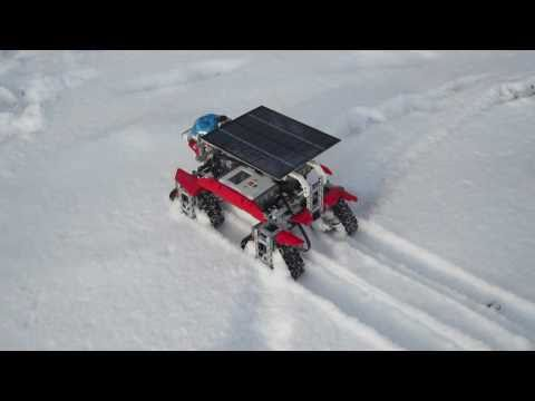 Snowstorms... LEGO NXT Robot for the snow