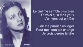 Giselle Pascal - Un oiseau chante (1945)