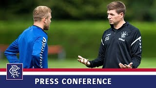 PRESS CONFERENCE | Gerrard & Arfield | 22 Jan 2019
