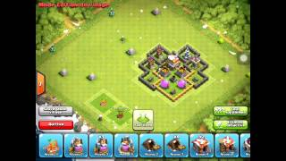 Clash Of Clan Village Hdv Nivaux 5