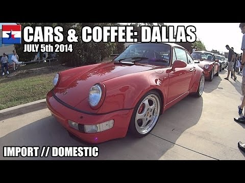 Cars & Coffee Dallas // July 5th 2014
