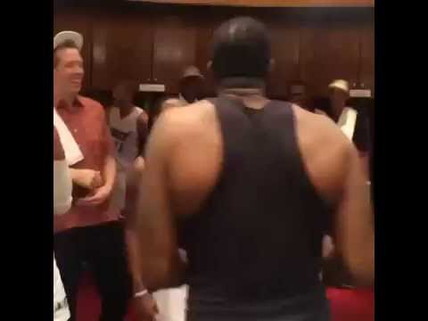 Miami Heat Eastern Conference Victory Dances