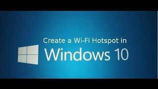 Create Wifi Hotspot In Windows 8 To Share Internet