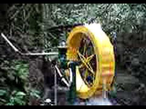 Instalação de bombas de roda d'água -- ZM Bombas -- Costa Rica