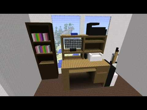 Minecraft - 18:1 Scale model of my house
