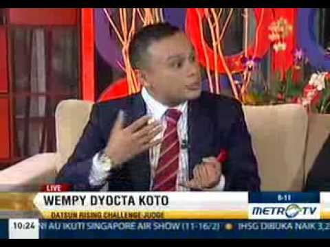 Wempy Dyocta Koto Live on Metro TV for the