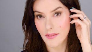 Illuminated Blush Glow - Natural Makeup Look