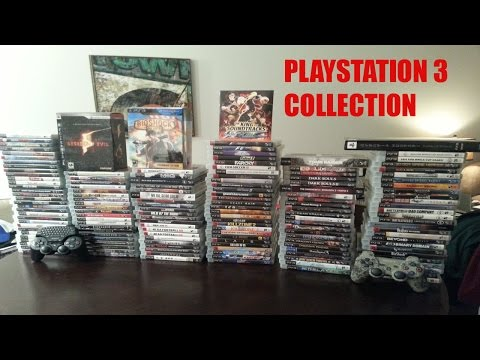 My PS3 Game Collection (2015)