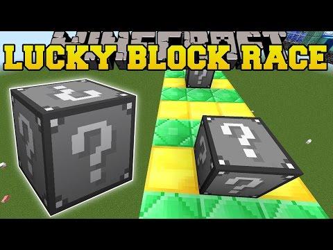 Minecraft: EXTREME DARK SIDE LUCKY BLOCK RACE - Lucky Block Mod - Modded Mini-Game