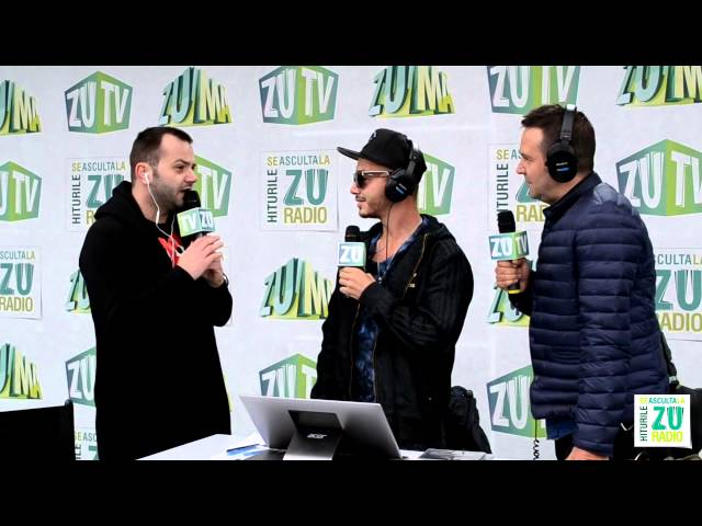 Radio ZU - J Balvin in direct la Morning ZU