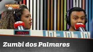 Fernando Holiday e Adriana Moreira divergem sobre Zumbi dos Palmares