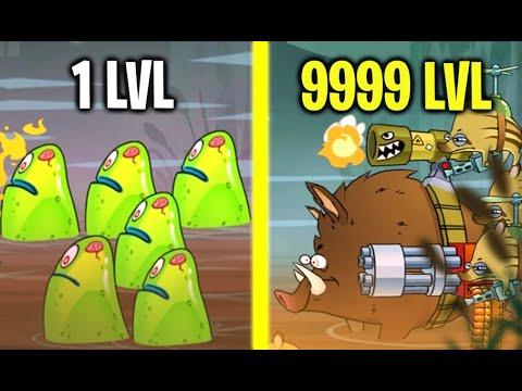 SWAMP ATTACK SECRET BOSS MONSTER BATTLE! Gold HACK In Swamp Attack! (9999+ Level Monsters)