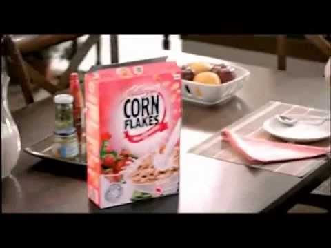 Kellogg's Corn Flakes Strawberry Commercial